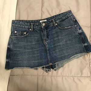Denim Zara skort
